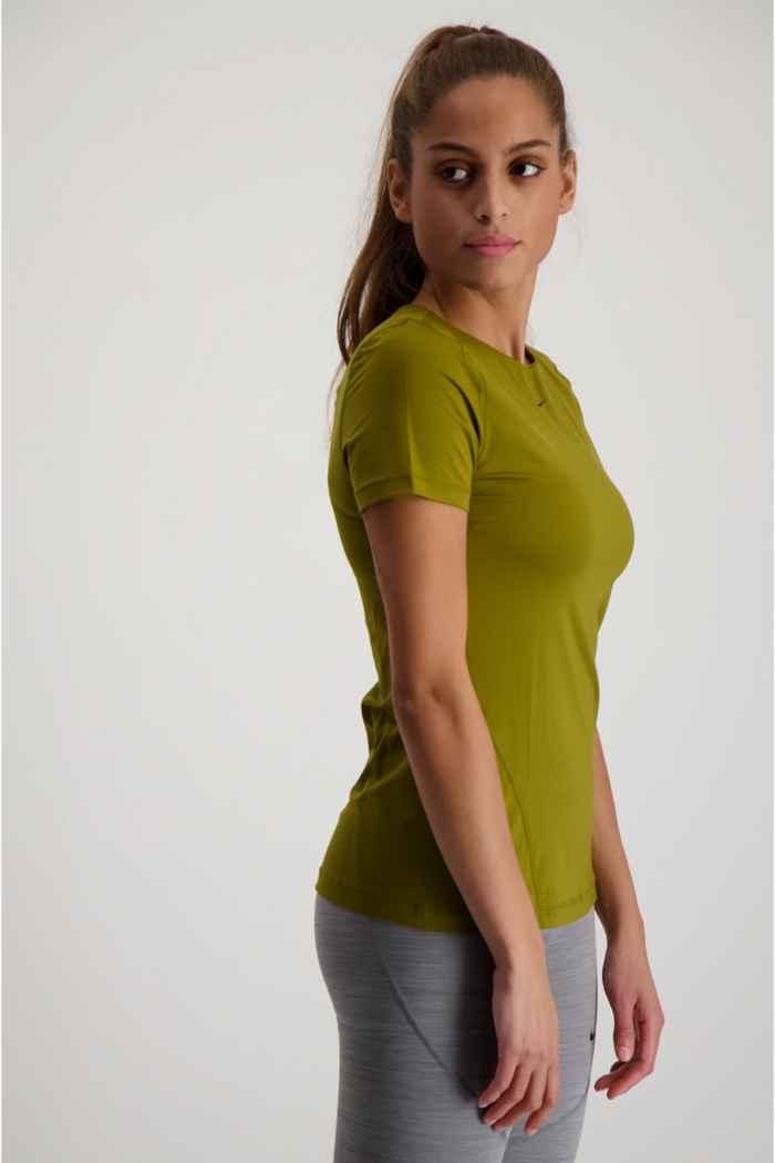 Nike Pro Damen T-Shirt Farbe Olive 1