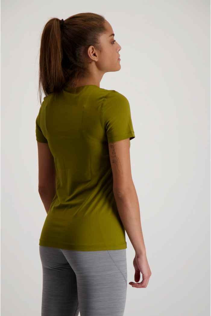 Nike Pro Damen T-Shirt Farbe Olive 2