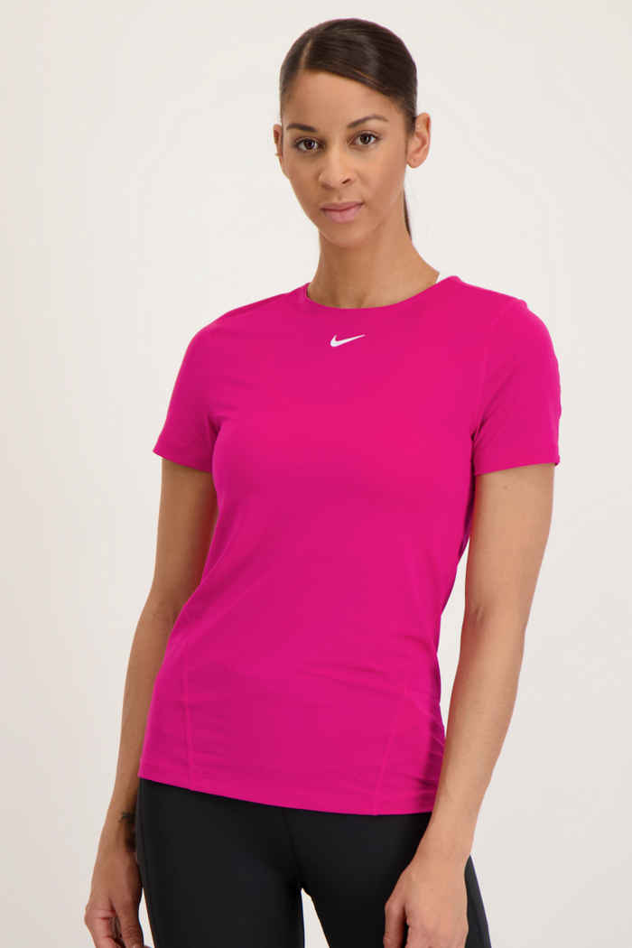 Nike Pro Damen T-Shirt Farbe Pink 1