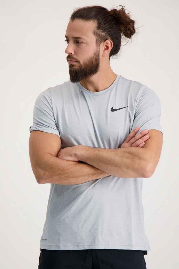 Nike Pro Dri-FIT Herren T-Shirt Farbe Grau 1