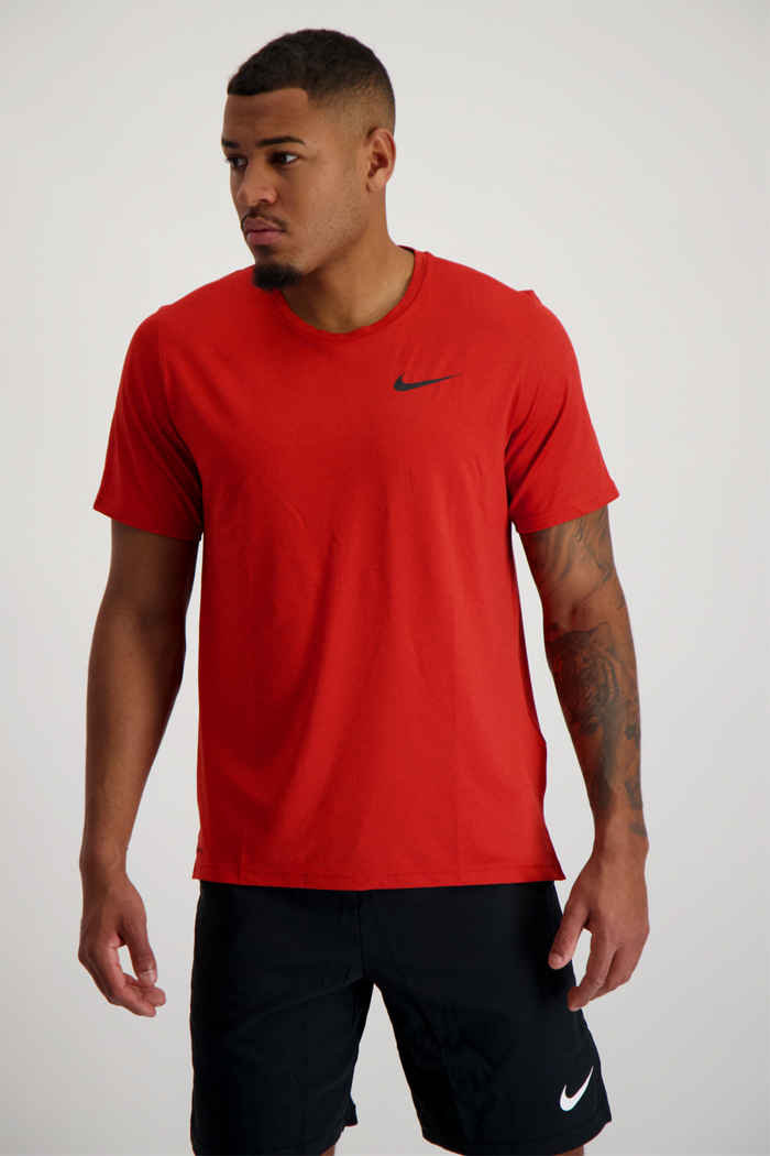 Nike Pro Dri-FIT Herren T-Shirt Farbe Rot 1