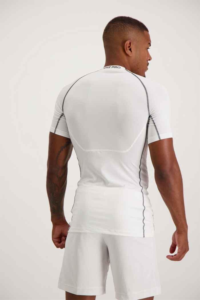 Nike Pro Dri-FIT t-shirt hommes Couleur Blanc 2