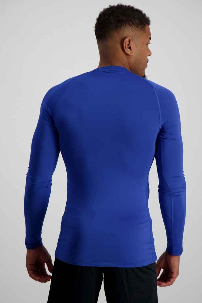 Nike Pro Herren Longsleeve Farbe Blau 2