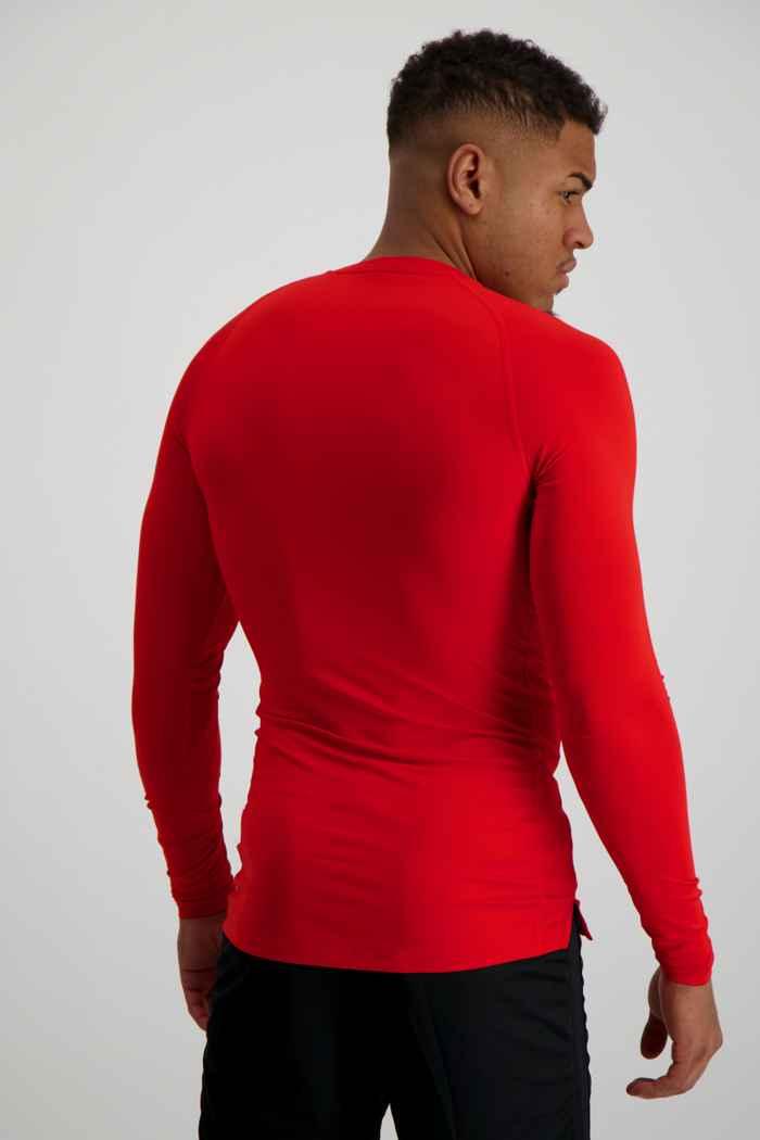 Nike Pro Herren Longsleeve Farbe Rot 2