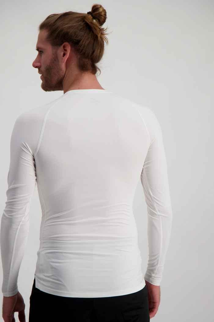 Nike Pro Herren Longsleeve Farbe Weiß 2