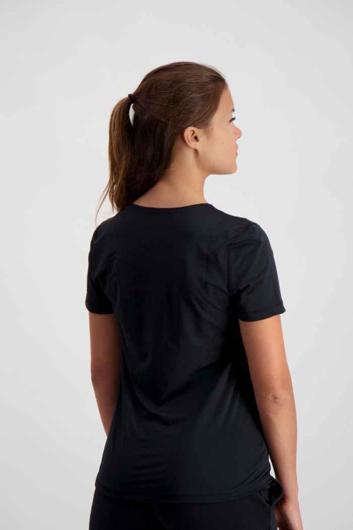 Nike Pro t-shirt donna Colore Nero 2