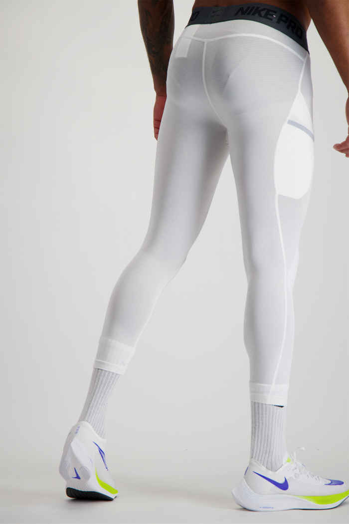 Nike Pro tight 3/4 hommes Couleur Blanc 2
