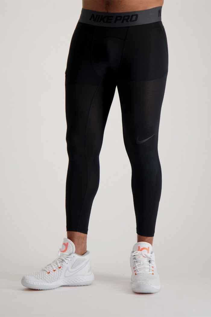 Nike Pro tight 3/4 hommes Couleur Noir 1