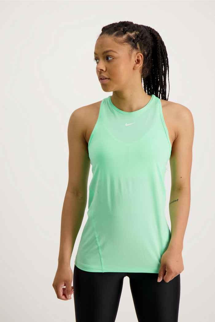 Nike Pro top donna Colore Verde 1