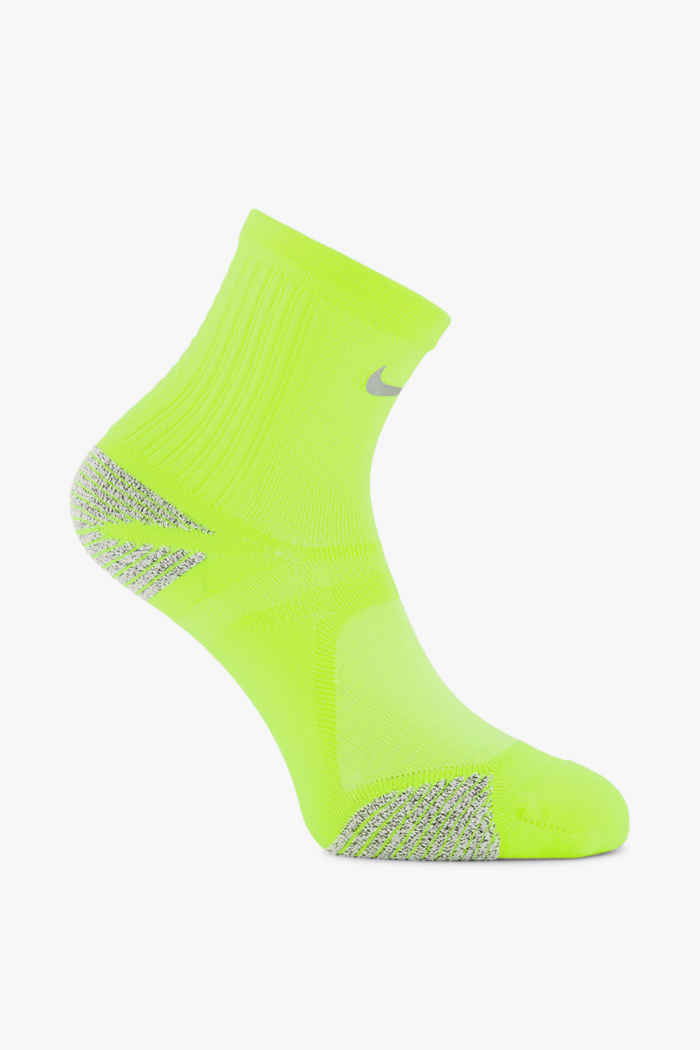 Nike Racing 38.5-45.5 chaussettes de course Couleur Jaune 1
