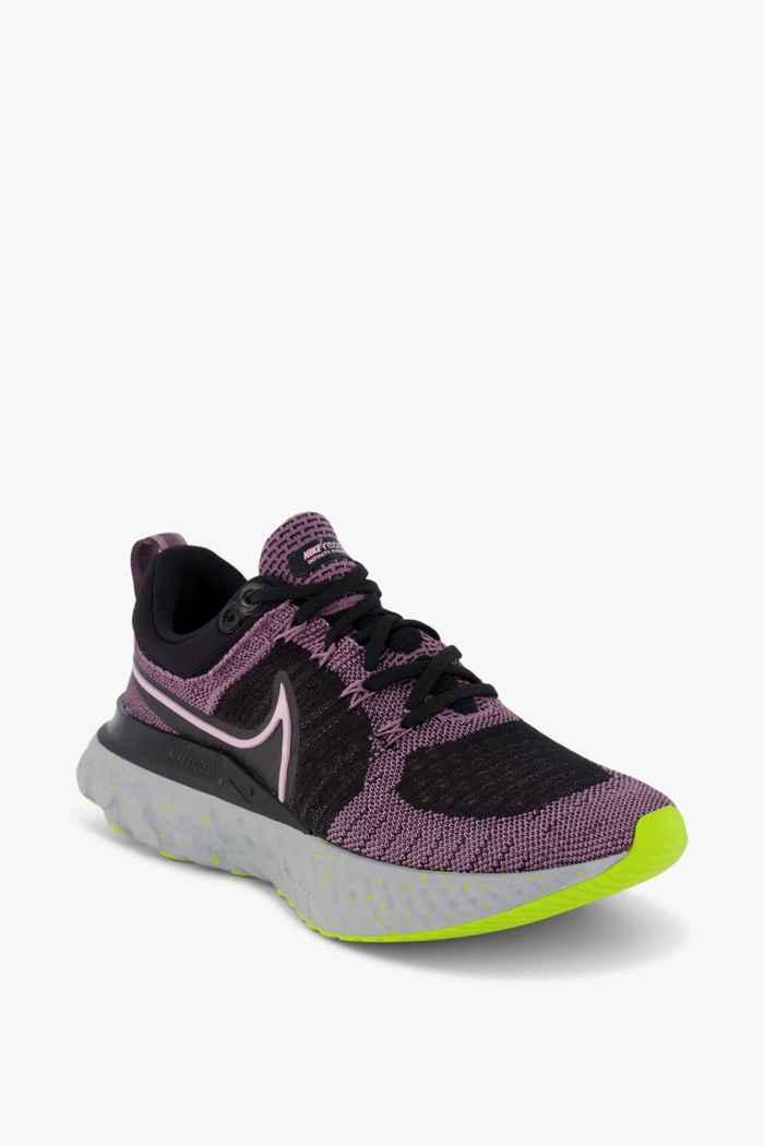 Nike React Infinity Run Flyknit 2 chaussures de course femmes Couleur Noir 1