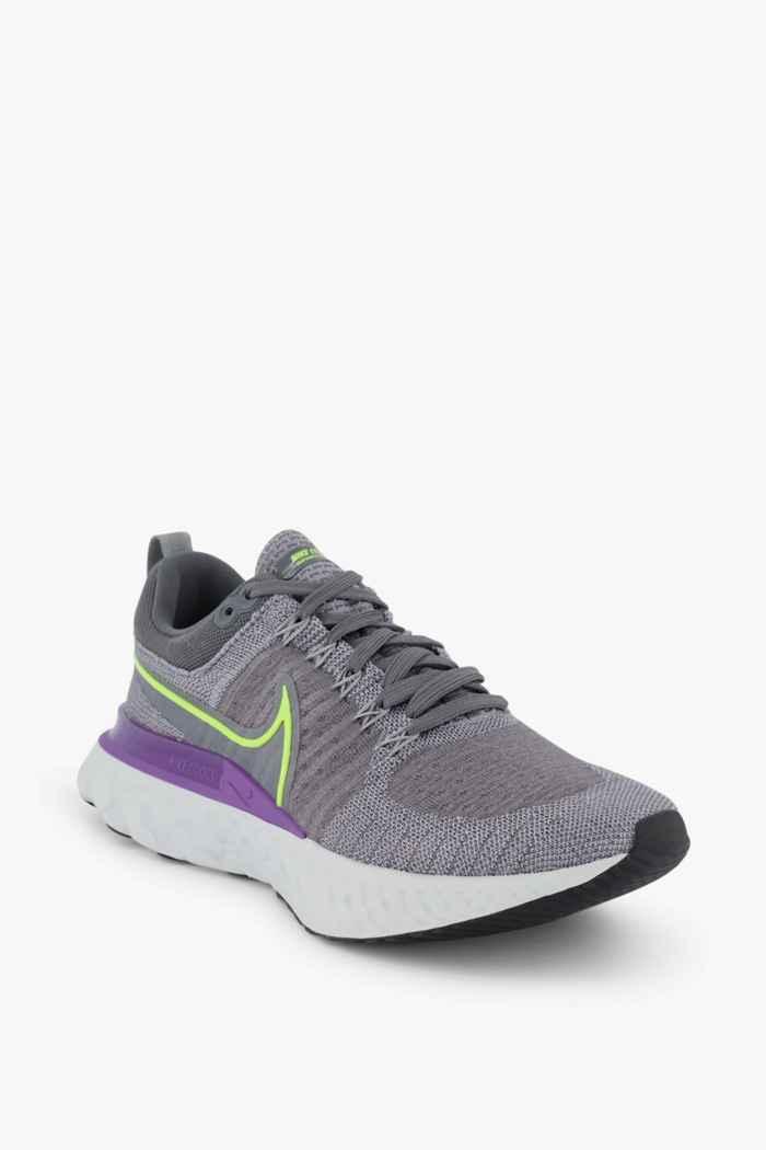 Nike React Infinity Run Flyknit 2 chaussures de course hommes Couleur Gris 1