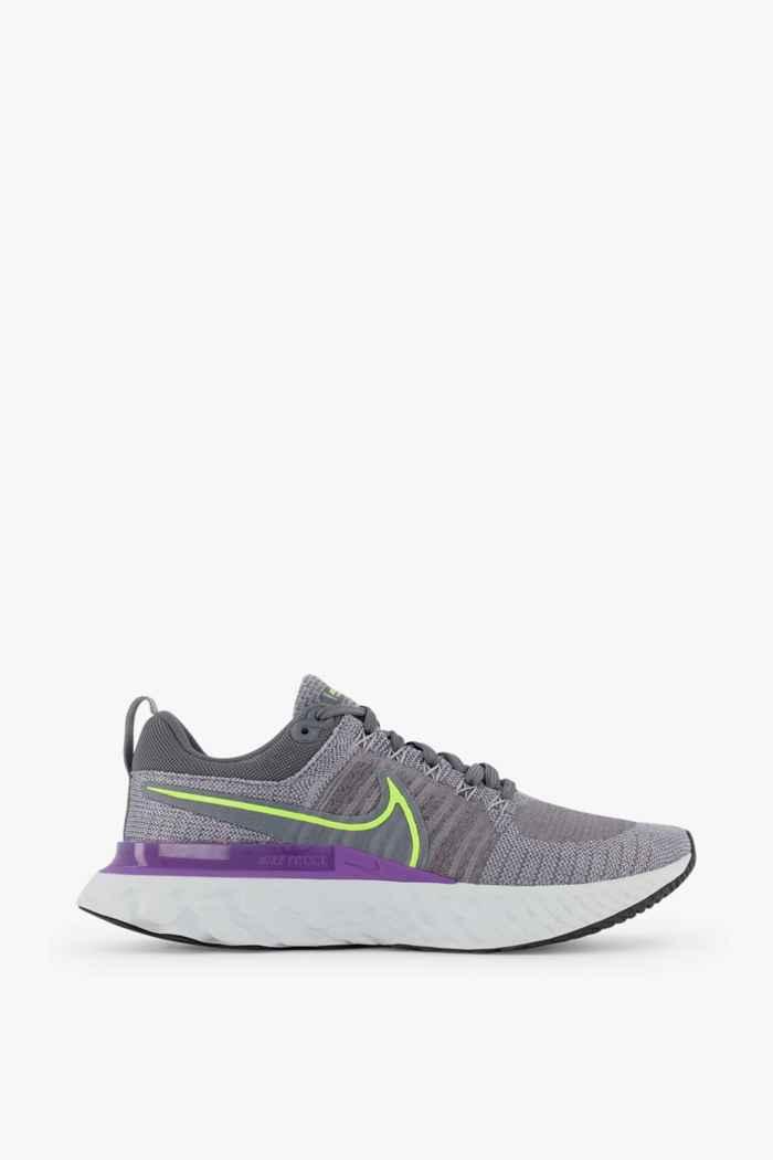 Nike React Infinity Run Flyknit 2 chaussures de course hommes Couleur Gris 2