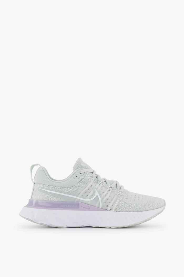 Nike React Infinity Run Flyknit 2 scarpe da corsa donna Colore Bianco 2