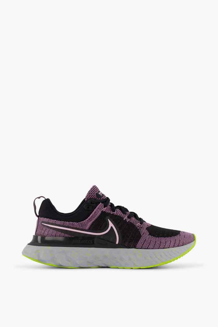 Nike React Infinity Run Flyknit 2 scarpe da corsa donna Colore Nero 2