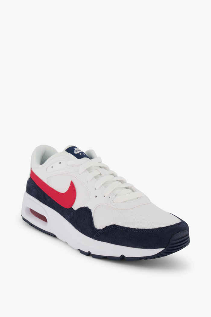 Nike Sportswear Air Max SC sneaker hommes Couleur Blanc/rouge 1
