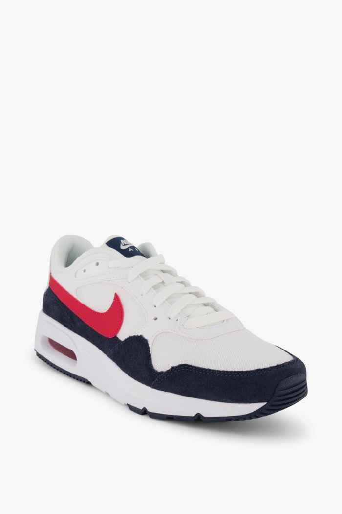 Nike Sportswear Air Max SC sneaker uomo Colore Bianco-rosso 1