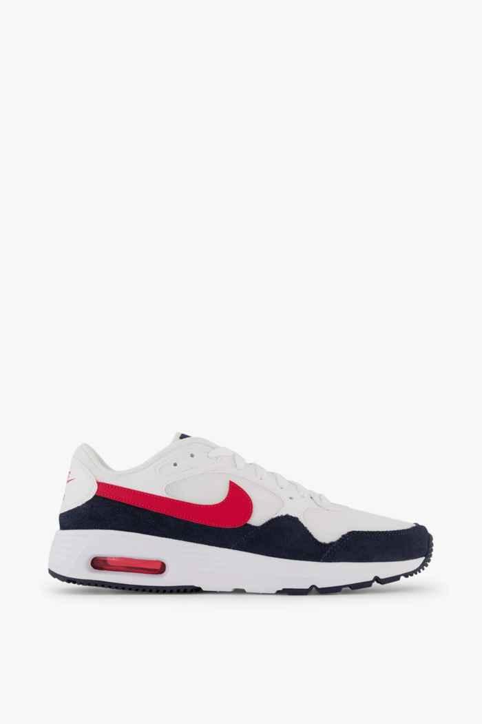 Nike Sportswear Air Max SC sneaker uomo Colore Bianco-rosso 2
