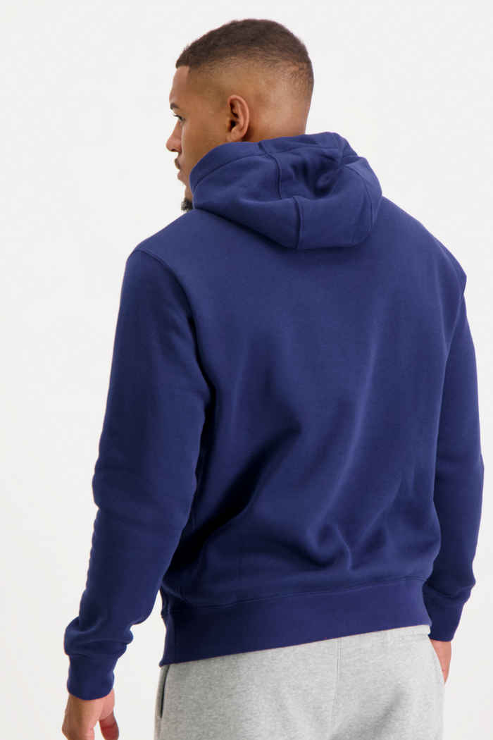 Nike Sportswear Club Fleece Herren Hoodie Farbe Navyblau 2