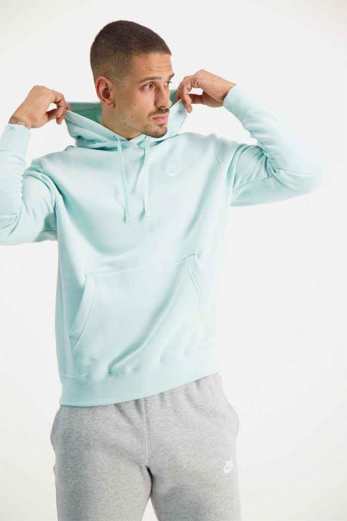 Nike Sportswear Club Fleece hoodie hommes Couleur Menthe 1