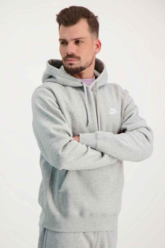 Nike Sportswear Club Fleece hoodie uomo Colore Grigio 1