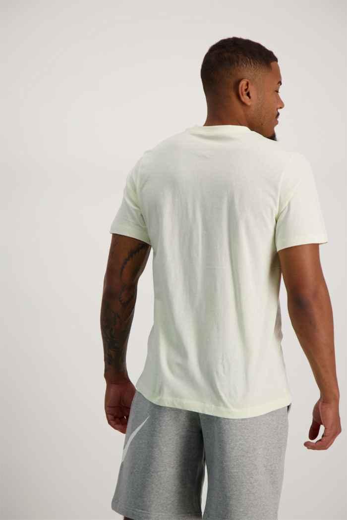 Nike Sportswear Club t-shirt hommes Couleur Blanc cassé 2