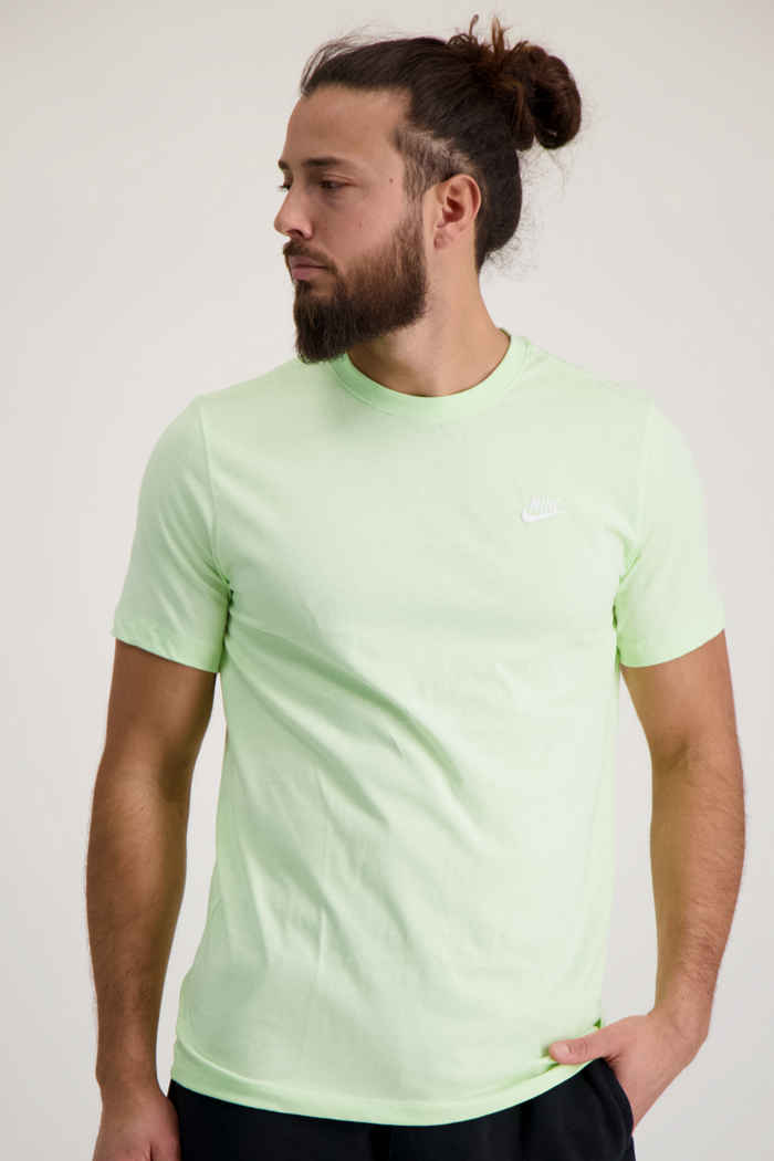 Nike Sportswear Club t-shirt uomo Colore Verde 1