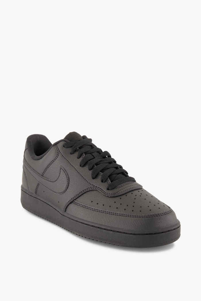 Nike Sportswear Court Vision Low Next Nature Herren Sneaker Farbe Schwarz 1