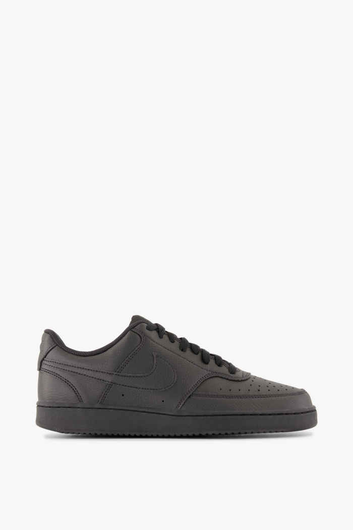 Nike Sportswear Court Vision Low Next Nature Herren Sneaker Farbe Schwarz 2