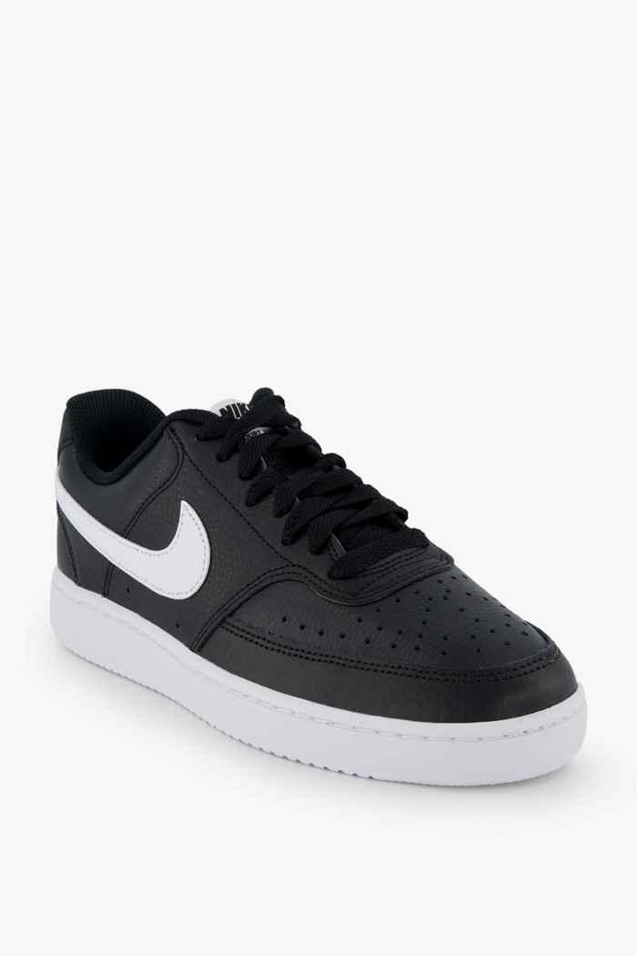Nike Sportswear Court Vision Low sneaker donna Colore Nero-bianco 1