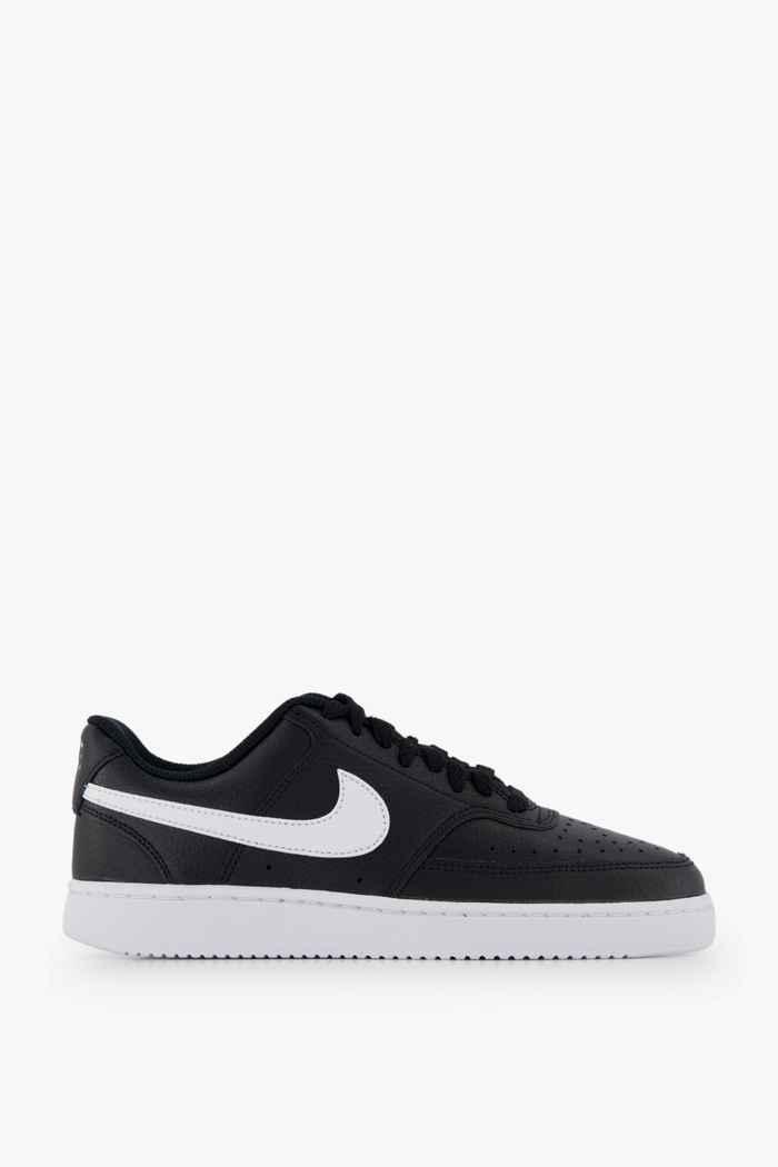 Nike Sportswear Court Vision Low sneaker donna Colore Nero-bianco 2