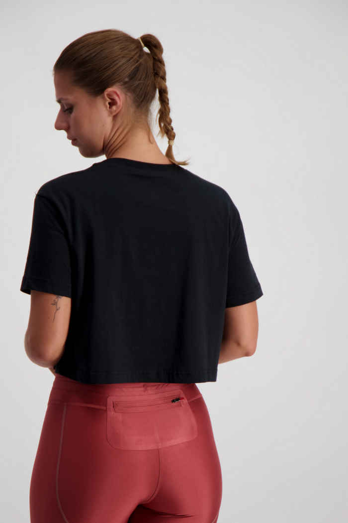 Nike Sportswear Essential Damen T-Shirt Farbe Schwarz 2