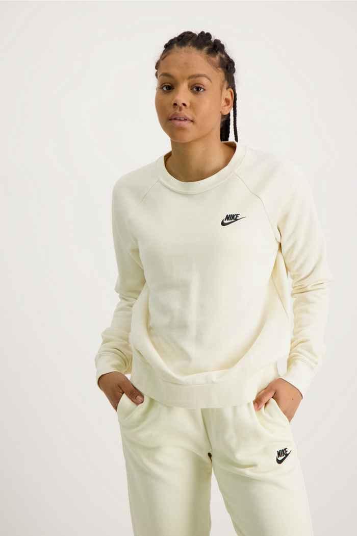 Nike Sportswear Essential pulls femmes Couleur Blanc cassé 1
