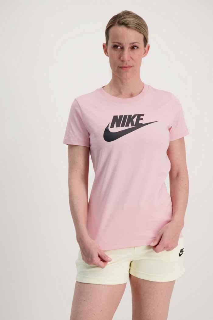 Nike Sportswear Essential t-shirt donna Colore Rosa 1