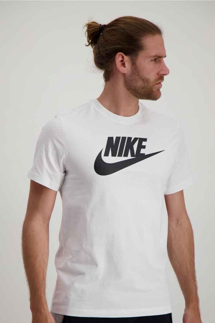 Nike Sportswear Icon Futura t-shirt hommes Couleur Noir-blanc 1