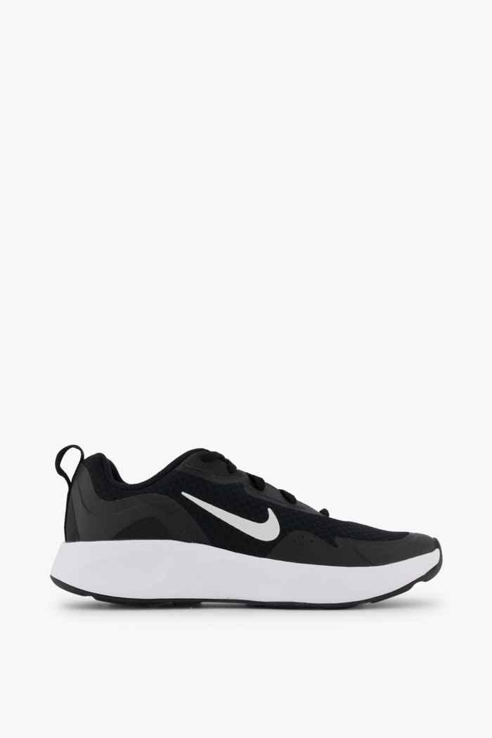 Nike Sportswear Wearallday sneaker bambini Colore Nero-bianco 2