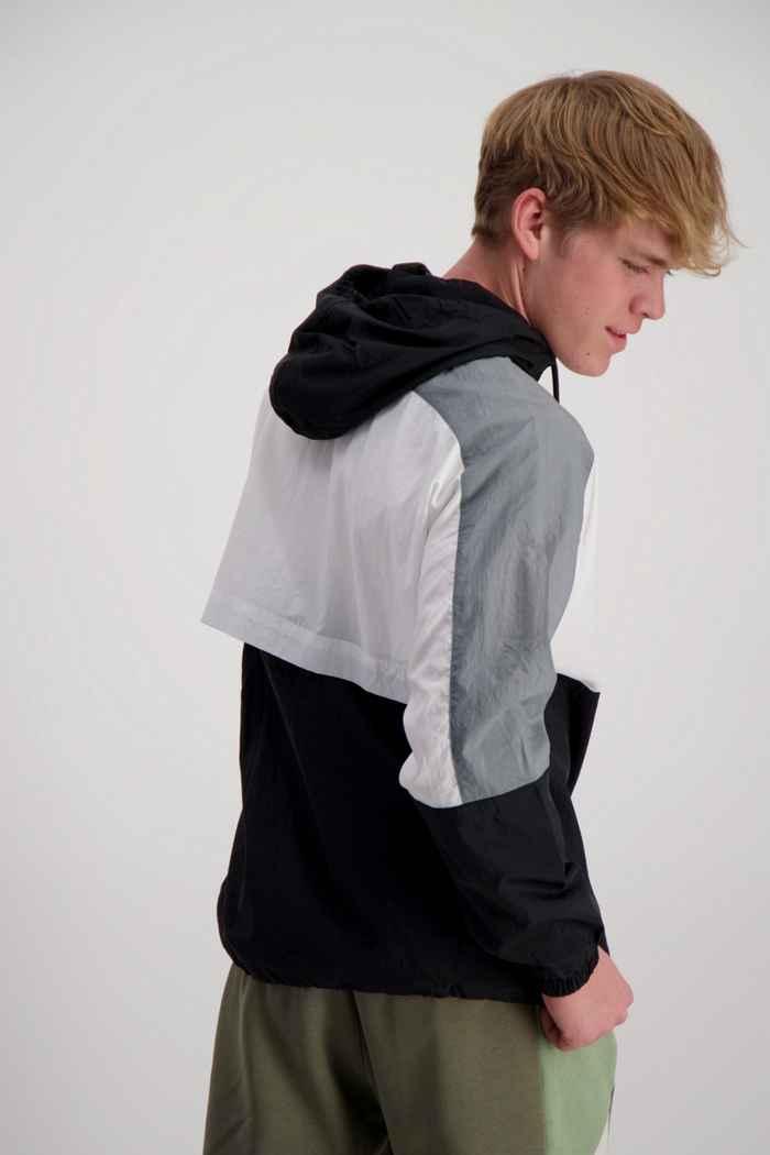 Nike Sportswear Woven giacca della tuta uomo Colore Nero-bianco 2