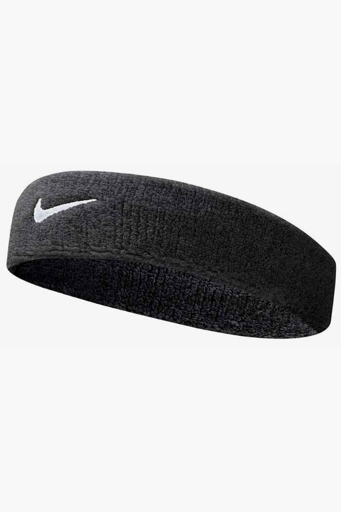Nike Swoosh bracelets éponge Couleur Noir 1