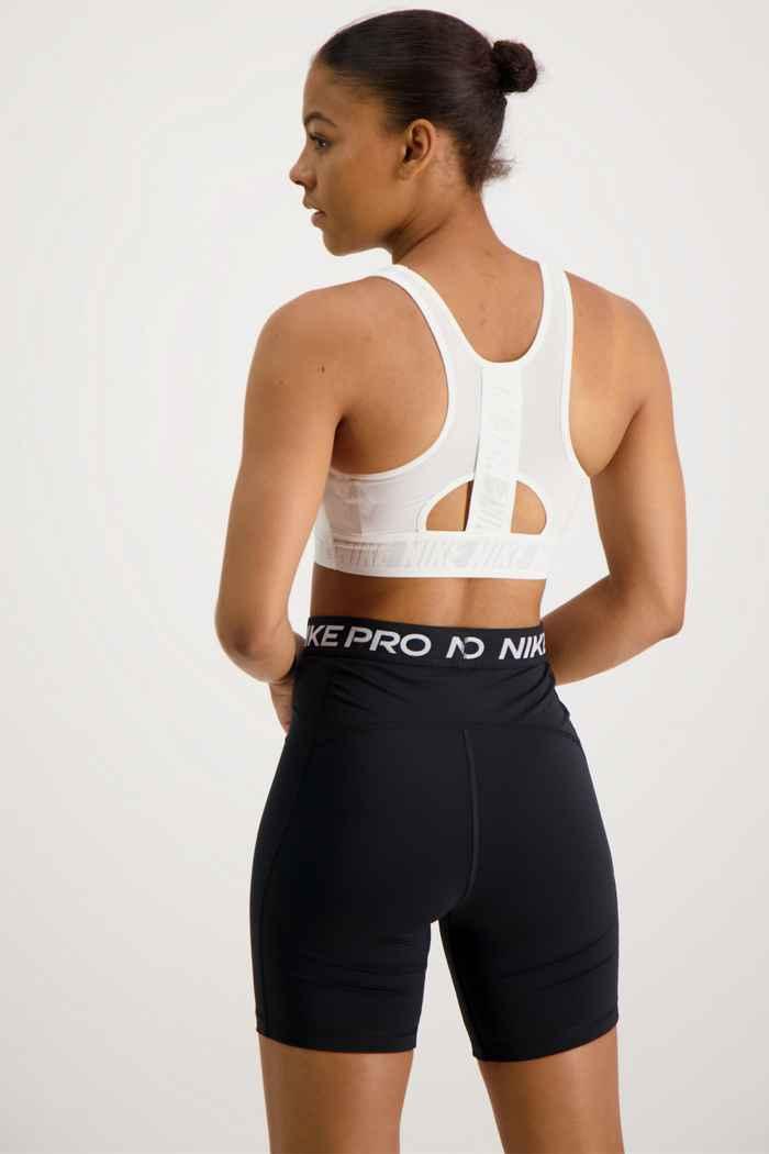 Nike Swoosh Ultrabreathe soutien-gorge de sport femmes Couleur Blanc cassé 2