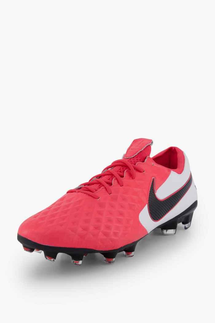 Nike Tiempo Legend 8 Elite FG chaussures de football hommes Couleur Rouge 1