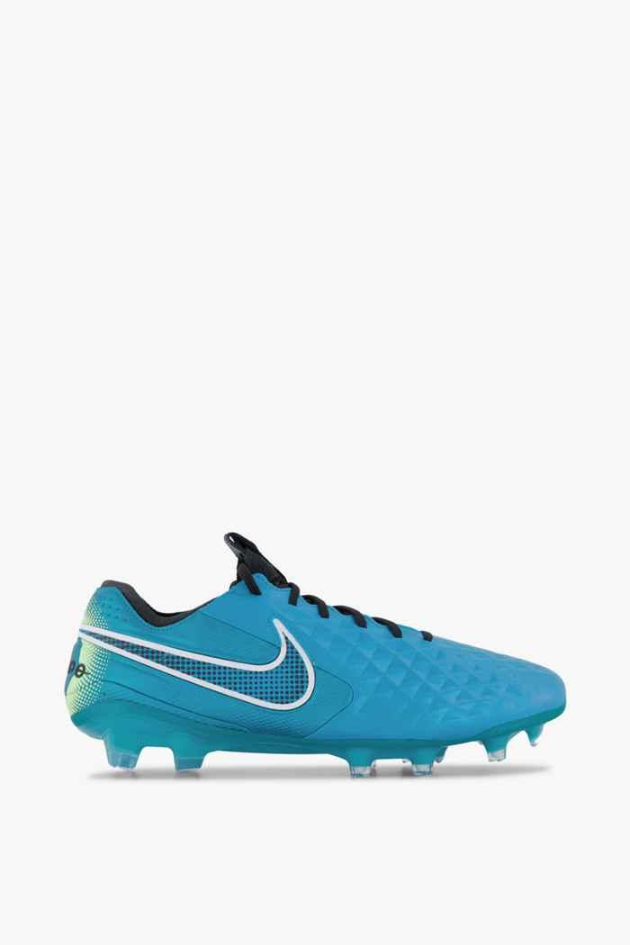 Nike Tiempo Legend 8 Elite FG Herren Fussballschuh Farbe Blau 2