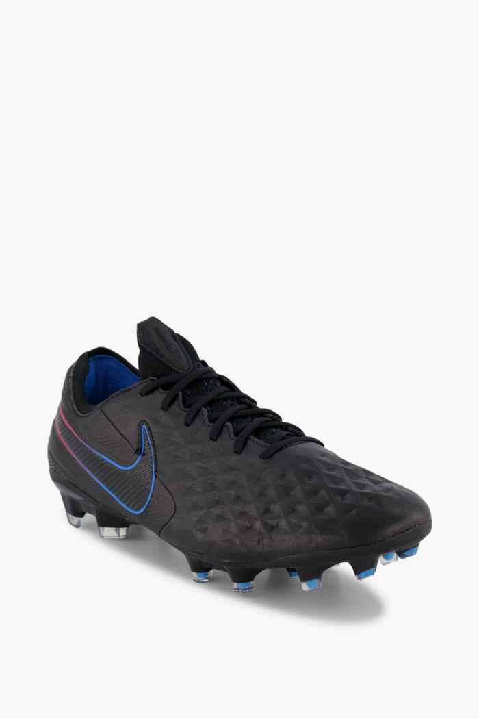 Nike Tiempo Legend 8 Elite FG Herren Fussballschuh Farbe Blau-schwarz 1