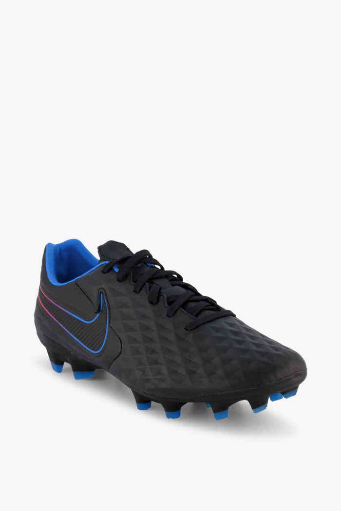 Nike Tiempo Legend 8 Pro FG Herren Fussballschuh Farbe Blau-schwarz 1