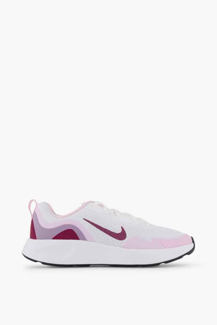 Nike Wearallday Mädchen Sneaker Farbe Weiß 2