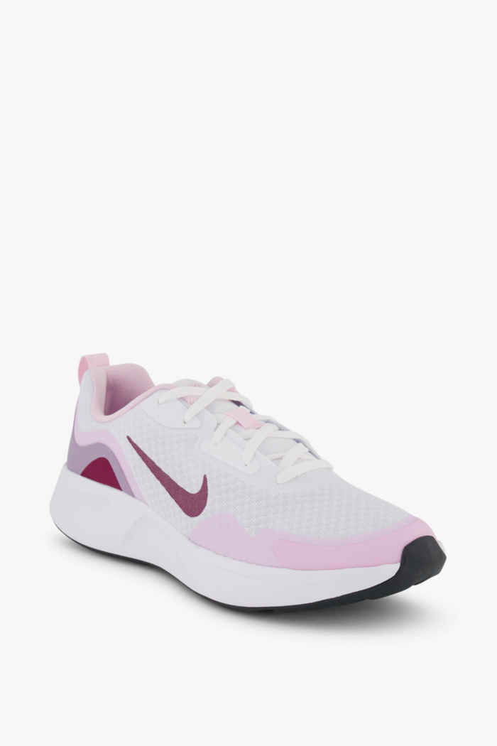 Nike Wearallday sneaker bambini Colore Bianco 1