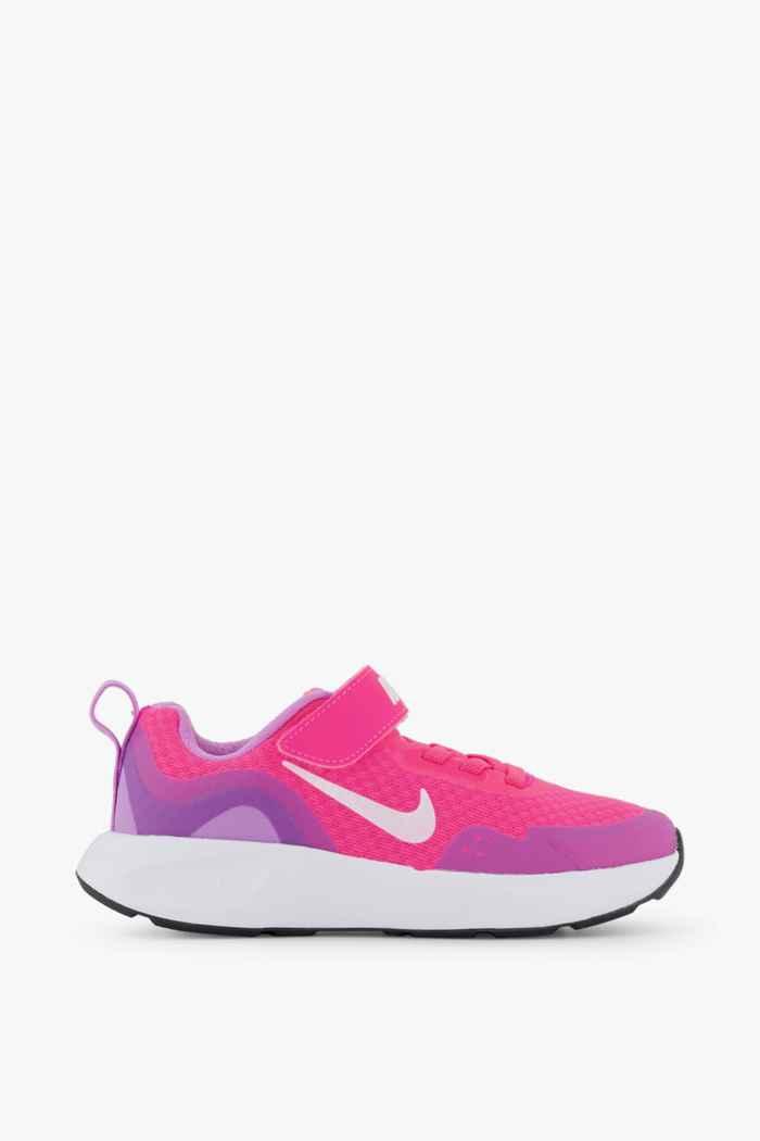 Nike Wearallday sneaker bimbo Colore Rosa intenso 2