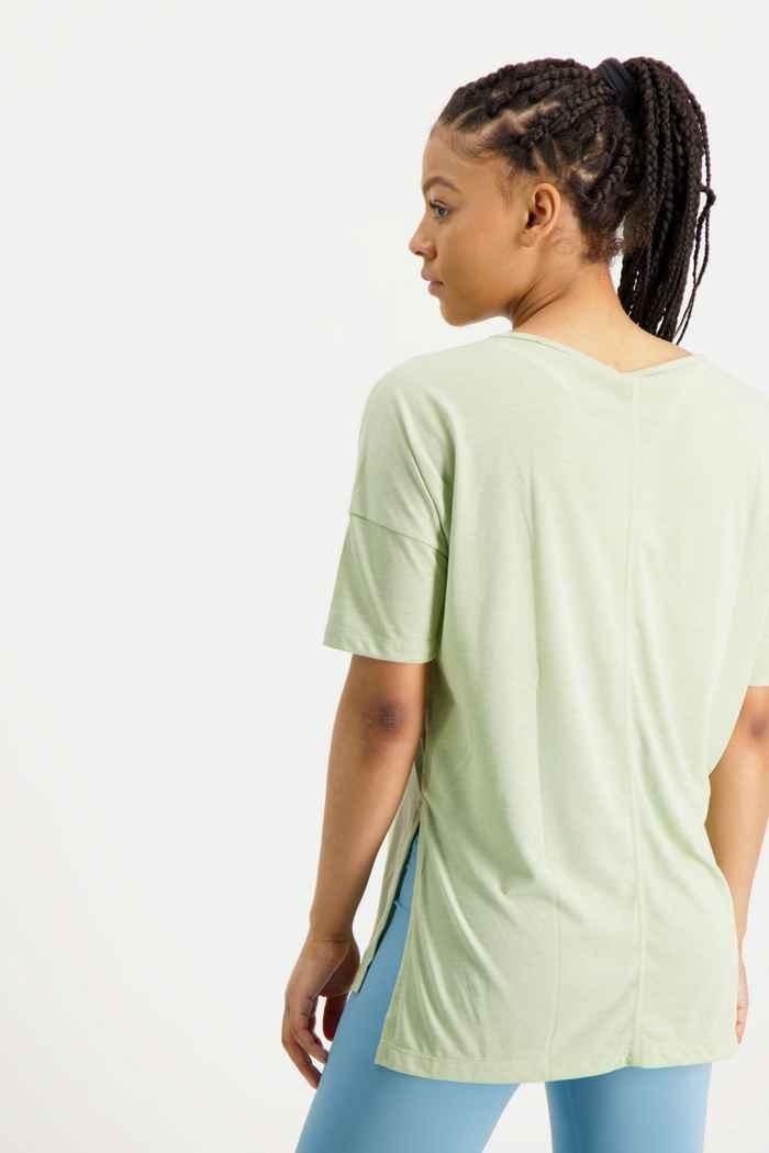 Nike Yoga Dri-FIT Damen T-Shirt Farbe Grün 2