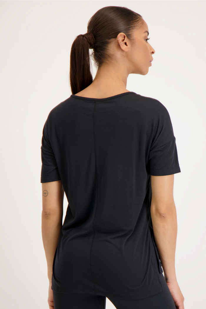 Nike Yoga Dri-FIT Damen T-Shirt Farbe Schwarz 2