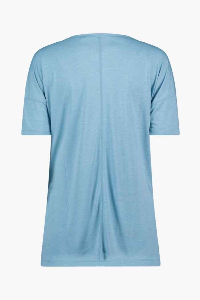Nike Yoga Dri-FIT t-shirt femmes Couleur Bleu pétrole 2