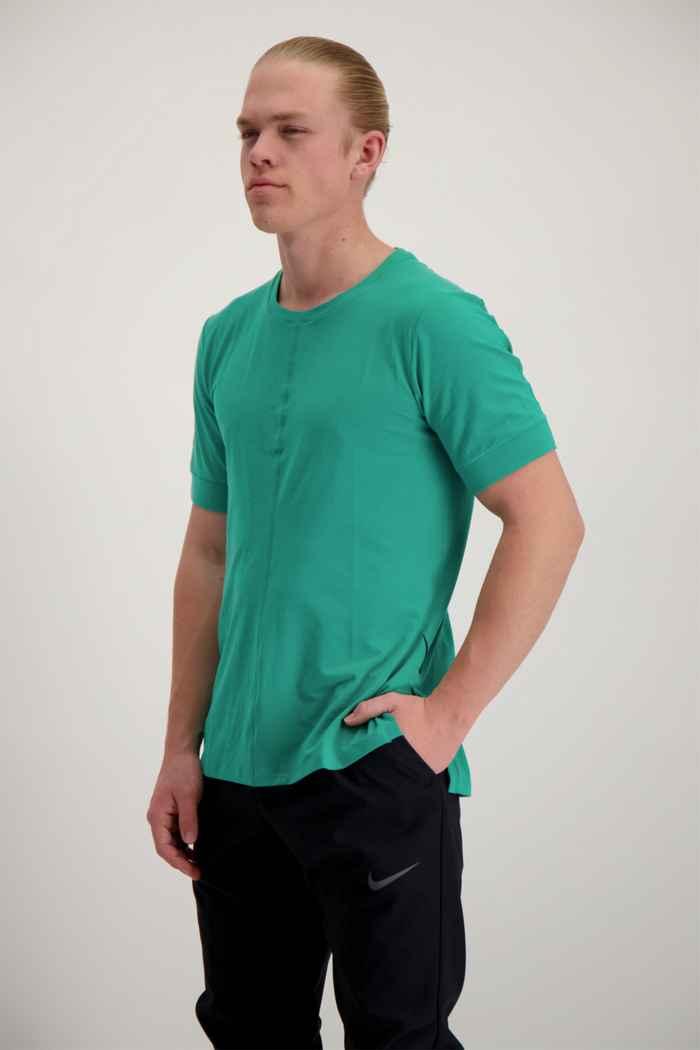 Nike Yoga Dri-FIT t-shirt uomo Colore Verde 1
